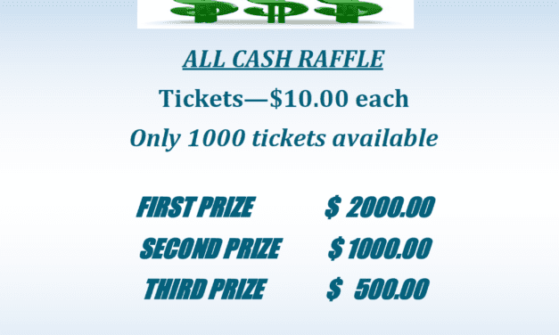 All Cash Raffle Fundraiser