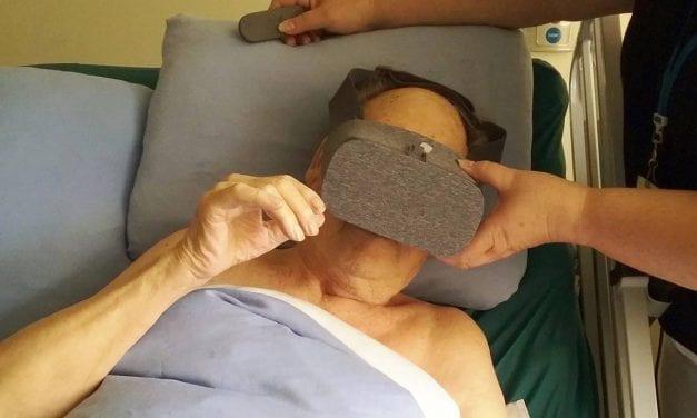 Virtual Reality at Hospice